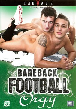 Bareback Football Orgy