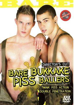 Bare Bukkake Piss Ballers